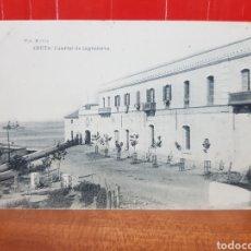 Postales: POSTAL ANTIGUA - CEUTA - CUARTEL DE INGENIEROS AÑOS 20. Lote 265360894