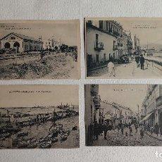 Postales: R-48.- LOTE DE -- 4-- POSTALES DE -- CEUTA -- DIVERSOS LUGARES DE LA POBLACION.- VER FOTOS. Lote 267445649