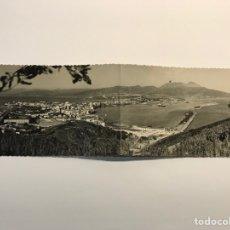 Postales: CEUTA POSTAL (27 X 9) UNA VISTA DE LA HERMOSA CIUDAD ESPAÑOLA DE AFRICA TOMADA DESDE MONTE HACHO. Lote 269016349