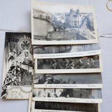 Postales: LOTE DE 9 POSTALES CEUTA FOTO RUBIO AÑOS 50 LP16. Lote 276253023