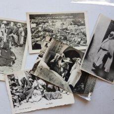 Postales: CEUTA TETUAN MARRUECOS LOTE DE 5 POSTALES VARIADAS ETNICAS COSTUMBRISTAS COLONIAS ESPAÑOLAS LP15. Lote 276254328