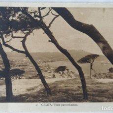 Postales: CEUTA VISTA PANORAMICA L. ROISIN. Lote 276612883