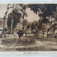 Postales: CEUTA JARDINES ED. L. ROISIN. Lote 276613313
