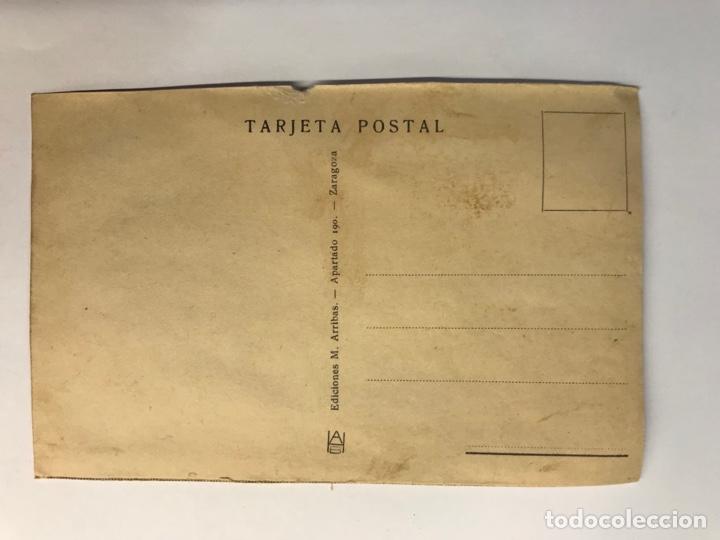 Postales: CEUTA. Postal No.2, Centro Cultural de F.E.T. Y de las JONS. Edic., M. Arribas (h.1940?) S/C - Foto 2 - 276752763