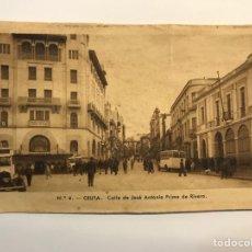 Postales: CEUTA. POSTAL NO.4, CALLE DE JOSÉ ANTONIO PRIMO DE RIVERA. EDIC., M. ARRIBAS (H.1940?) S/C. Lote 276753073