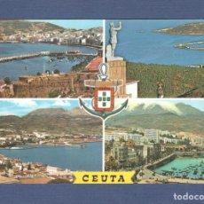 Postales: POSTAL CEUTA: Nº 60 BELLEZAS DE LA CIUDAD - ED LUIS CABELLO - SIN CIRCULAR. Lote 276768088