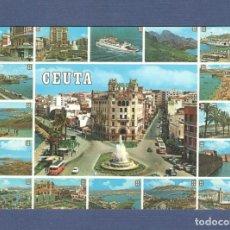 Postales: POSTAL CEUTA: Nº 69 BELLEZAS DE LA CIUDAD - ED LUIS CABELLO - SIN CIRCULAR. Lote 276768173