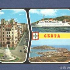 Postales: POSTAL CEUTA: Nº 63 BELLEZAS DE LA CIUDAD - ED LUIS CABELLO - SIN CIRCULAR. Lote 276768213