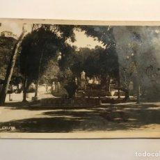 Postales: CEUTA. POSTAL FOTOGRAFÍCA, PARQUE DE SAN AMARO..? SIN IDENTIFICAR EDITOR (A.1942) DEDICADA... Lote 276814073