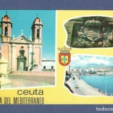 Postales: POSTAL CEUTA: Nº 24 PERLA DEL MEDITERRANEO - ED LIB. GENERAL - SIN CIRCULAR. Lote 276922923