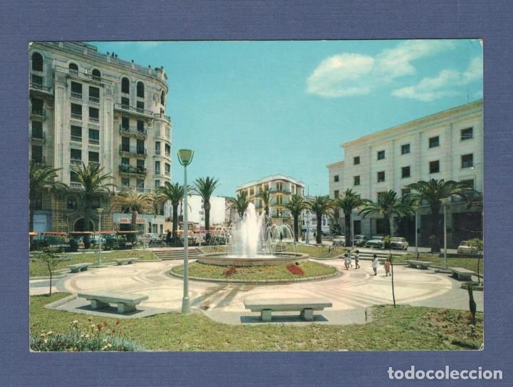 POSTAL CEUTA: PLAZA DEL CAPITÁN RAMOS - ED LIB. GENERAL - ESCRITA (Postales - España - Ceuta Moderna (desde 1940))