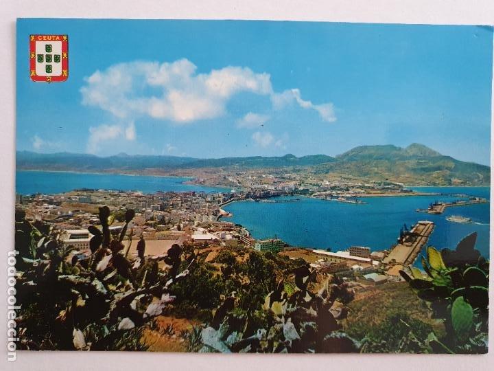 CEUTA - PANORÁMICA DESDE EL MONTE HACHO - LAXC - P58024 (Postales - España - Ceuta Moderna (desde 1940))