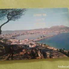 Cartoline: CEUTA - VISTA PANORAMICA - 1970 - PUBLICIDAD ALFONSO VAL - SURTIDOR BP - MUELLE DATO - EDITADA POR A. Lote 282235223