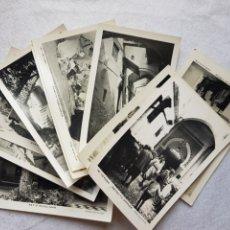 Postales: LOTE DE 10 POSTALES TETUAN ANIMADAS FOTO CALATAYUD. Lote 285093703