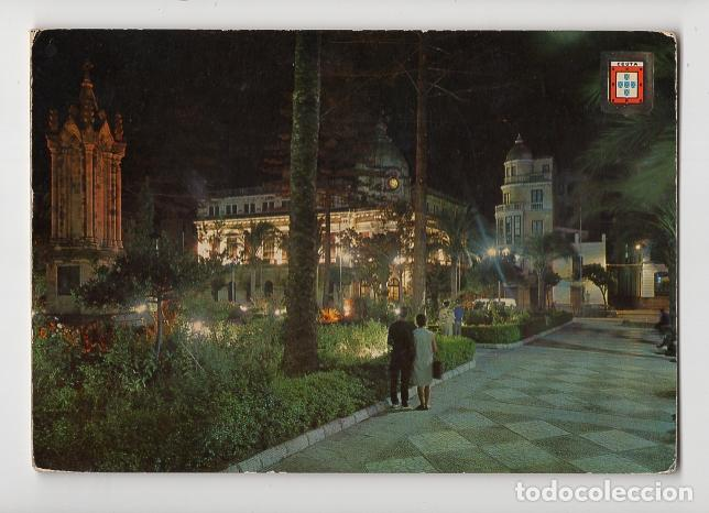 IMAGENES ESCUDO DE ORO. Nº 11 CEUTA. PLAZA DE AFRICA, NOCTURNA (Postales - España - Ceuta Moderna (desde 1940))