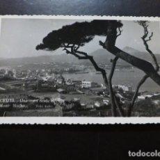 Postales: CEUTA UNA VISTA DESDE EL MONTE HACHO. Lote 287232728
