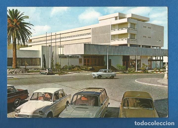 POSTAL CIRCULADA CEUTA 29 GRAN HOTEL LA MURALLA EDITA GARCIA GARRABELLA (Postales - España - Ceuta Moderna (desde 1940))
