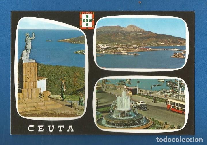 POSTAL SIN CIRCULAR CEUTA 58 BELLEZAS DE LA CIUDAD EDITA LUIS CABELLO GARCIA (Postales - España - Ceuta Moderna (desde 1940))