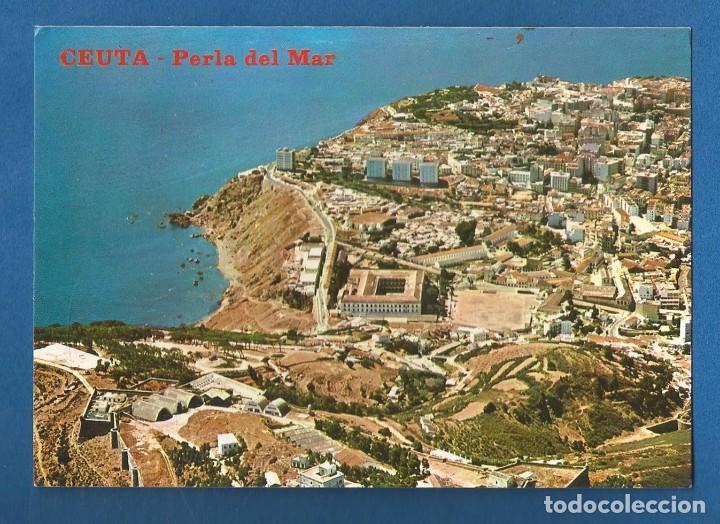 POSTAL SIN CIRCULAR CEUTA 124 VISTA PARCIAL EDITA LIBRERIA GENERAL (Postales - España - Ceuta Moderna (desde 1940))