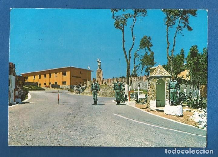 POSTAL CIRCULADA CEUTA 218 ENTRADA AL CUARTEL DE GARCIA ALDAVES EDITA LIBRERIA GENERAL (Postales - España - Ceuta Moderna (desde 1940))