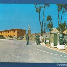 Postales: POSTAL CIRCULADA CEUTA 218 ENTRADA AL CUARTEL DE GARCIA ALDAVES EDITA LIBRERIA GENERAL. Lote 288470148