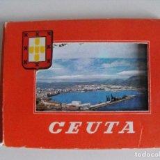 Postales: LOTE EN ACORDEÓN DE POSTALES DE CEUTA.. Lote 291976288