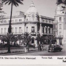 Postales: CEUTA, PALACIO MUNICIPAL – FOTO RUBIO Nº70 – DORSO EN BLANCO. Lote 294100363
