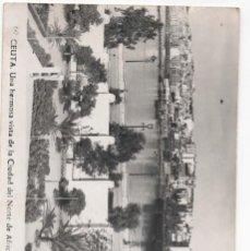 Postales: POSTAL CEUTA - UNA HERMOSA VITA DE LA CIUDAD DEL NORTE DE AFRICA. Lote 294433078