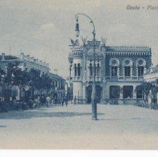 Postales: CEUTA, PLAZA DE LOS REYES. NO CONSTA EDITOR. SIN CIRCULAR. Lote 294962348