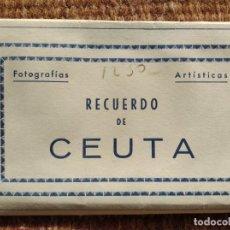 Postales: CEUTA - 10 POSTALES - ED. ARRIBAS. Lote 295022578