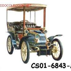 Postales: ANTIGUA POSTAL COCHE ANTIGUO -BARRACO 1902- (AÑOS 60) A ESTRENAR. Lote 7462434