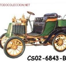 Postales: ANTIGUA POSTAL COCHE ANTIGUO -CEIRANO 19 DI 5 HP- (AÑOS 60) A ESTRENAR. Lote 7462452