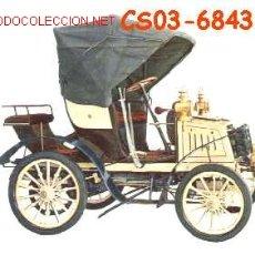 Postales: ANTIGUA POSTAL COCHE ANTIGUO -FIAT 1901- (AÑOS 60) A ESTRENAR. Lote 7462462