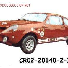 Postales: ANTIGUA POSTAL COCHE ANTIGUO RALLY MARCOS 1000 (AÑOS 60)*. Lote 187635255