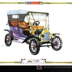 Postales: POSTAL - COCHE ANTIGUO - FORD T 1908. Lote 3238661