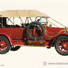 Postales: POSTALES C. Y Z. COMPLETAMENTE NUEVAS DE COCHES ANTIGUOS 1854-1914 - ITALIA 25/35 DE 1912. Lote 4290675