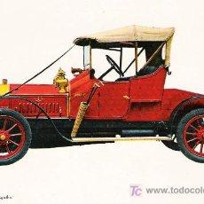 Postales: POSTALES C. Y Z. COMPLETAMENTE NUEVAS DE COCHES ANTIGUOS 1854-1914 - LA LICORNE AGATHE DE 1912. Lote 4290894