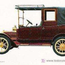 Postales: POSTALES C. Y Z. COMPLETAMENTE NUEVAS DE COCHES ANTIGUOS 1854-1914 - ADLER K 7/15 DE 1912. Lote 4291013