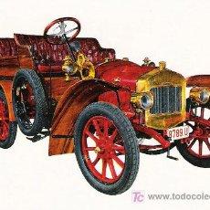 Postales: POSTALES C. Y Z. COMPLETAMENTE NUEVAS DE COCHES ANTIGUOS 1854-1914 - DELAGE DE 1906. Lote 4291234