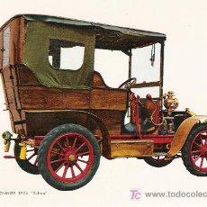 Postales: POSTALES C. Y Z. NUEVAS DE COCHES ANTIGUOS 1854-1914 - MARTIN LE TIMONNIER SULTAN DE 1904. Lote 4293792