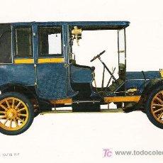 Postales: POSTALES C. Y Z. COMPLETAMENTE NUEVAS DE COCHES ANTIGUOS 1854-1914 - MARCHAND 12-16 DE 1904. Lote 4293841