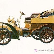 Postales: POSTALES C. Y Z. COMPLETAMENTE NUEVAS DE COCHES ANTIGUOS 1854-1914 - FIAT 16-24 DE 1903. Lote 4294000