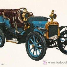 Postales: POSTALES C. Y Z. COMPLETAMENTE NUEVAS DE COCHES ANTIGUOS 1854-1914 - PEUGEOT LION - CLEO DE 1903. Lote 4294099