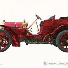 Postales: POSTALES C. Y Z. COMPLETAMENTE NUEVAS DE COCHES ANTIGUOS 1854-1914 - MERCEDES 8 DE 1902. Lote 4294831