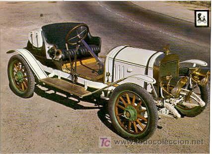 COCHES DE EPOCA - ALBA 1916. MOTOR BALLOT 10 HP (Postales - Postales Temáticas - Coches y Automóviles)