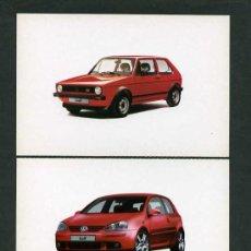 Postales: *VOLKSWAGEN GTI 1974-2004* LOTE 5 DIFERENTES. NUEVAS.. Lote 276720873