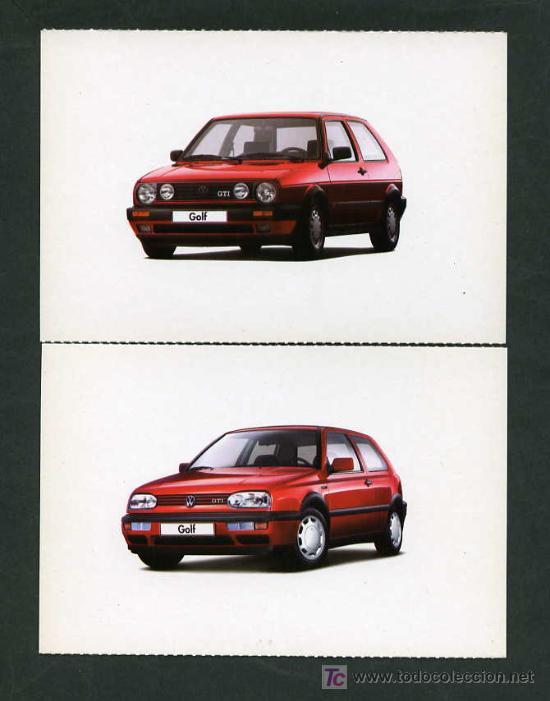 Postales: *Volkswagen GTI 1974-2004* Lote 5 diferentes. Nuevas. - Foto 2 - 276720873