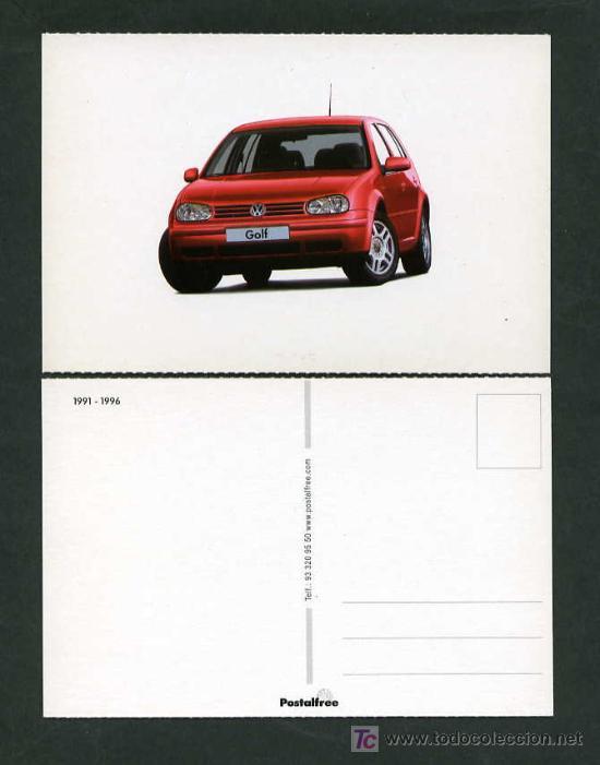 Postales: *Volkswagen GTI 1974-2004* Lote 5 diferentes. Nuevas. - Foto 3 - 276720873