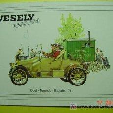 Postales: 1320 CAR COCHE COCHES AUTO OPEL TORPEDO 1911 MAS POSTALES DE ESTE TEMA EN COSAS&CURIOSAS. Lote 5733626