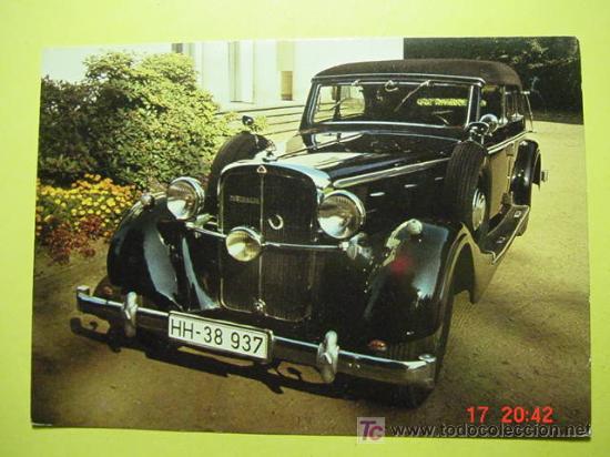 1324 CAR COCHE WAGEN AUTO VOITURE MAYBACH 1937 MAS POSTALES DE ESTE TEMA EN COSAS&CURIOSAS (Postales - Postales Temáticas - Coches y Automóviles)